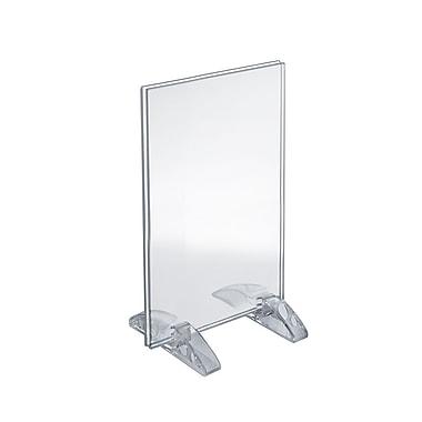 Azar Acrylic Vertical/Horizontal Dual-Stand Sign Holder , 11