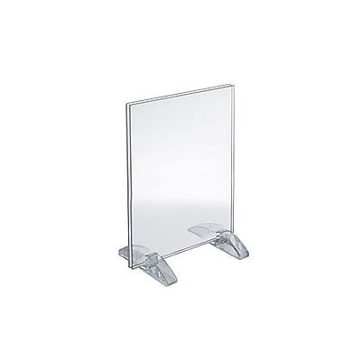 Azar Displays Dual-Stand Sign Holder 10/Pack