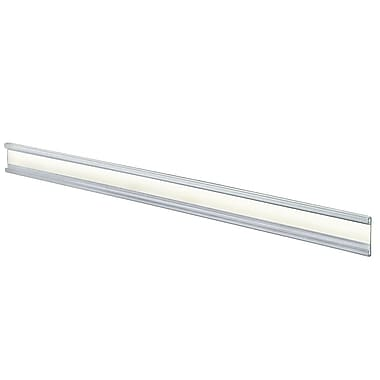 Azar Acrylic C-Channel Nameplate with Adhesive Back, 1