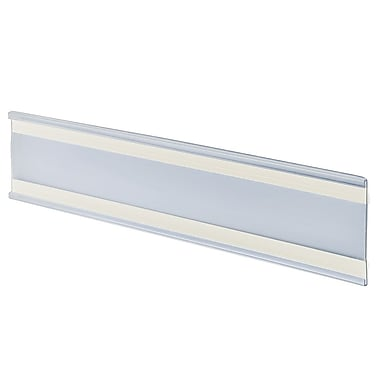 Azar Acrylic C-Channel Nameplate with Adhesive Back, 3