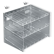 """Azar Displays 3-Tier 21 Compartment Cosmetic Counter Display, 10 1/2""""(H) x 12""""(W) x 8""""(D)"""