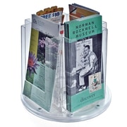 Azar Displays Four-Pocket Modular Brochure Holder