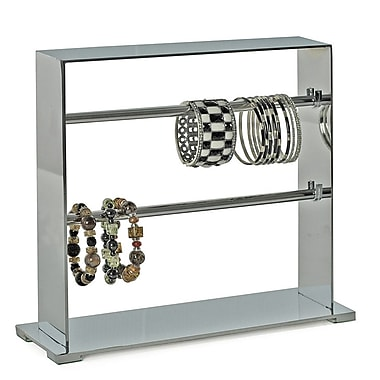 Azar Displays 2-Tier Bracelet Display, Chrome