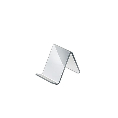Azar Displays Acrylic Easel Front Lip 10/Pack