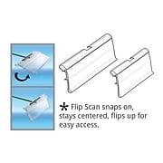 "Azar® Flip Scan Label Holder, 1 1/2"" x 2"", 50/Pack"