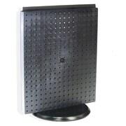 "Azar Displays 20""(H) x 16""(W) Pegboard Counter Unit, Black Solid"