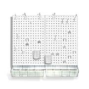 Azar® Pegboard Organizer Kit, White