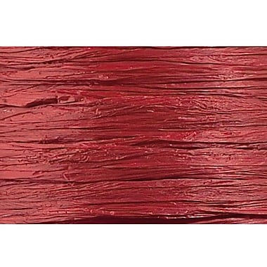 Shamrock Wraphia® 100 yds. Matte Rayon Ribbon, Burgundy