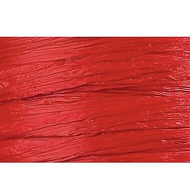 Shamrock Wraphia® 100 yds. Matte Rayon Ribbon, Imperial Red