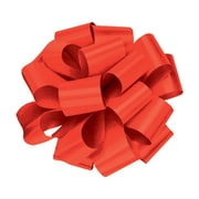 """Shamrock 4"""" x 18 Loops Splendorette® Pre Notched Bows, Red"""