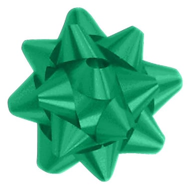 Shamrock 3 x 15 Loops Splendorette® Star Bows, Emerald