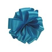 """Shamrock 7/8"""" x 100 yds. Double Face Satin Ribbon, Turquoise"""