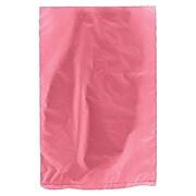 "Shamrock Plastic 9.5""H x 6.5""W High Density Merchandise Bags, Magenta, 1000/Carton"