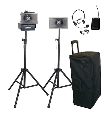 Amplivox Deluxe Wireless Half-Mile Hailer Kit