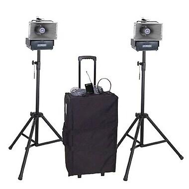 Amplivox Deluxe Wireless Speaker Half-Mile Hailer Kit