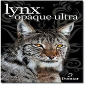 "Domtar Lynx Opaque 8 1/2"" x 11"" 60 lbs. Digital Ultra Smooth Laser Paper, White, 5000/Case"
