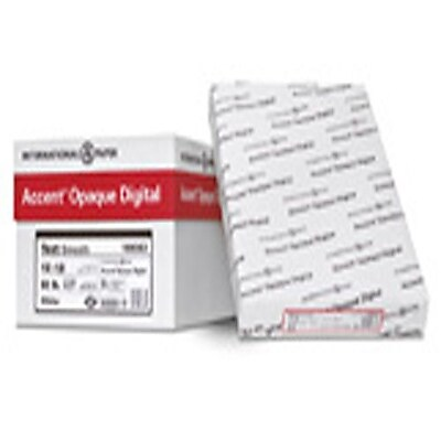 """IP Accent® Opaque 8 1/2"""" x 14"""" 60 lbs. Digital Smooth Multipurpose Paper, White, 500/Ream"""