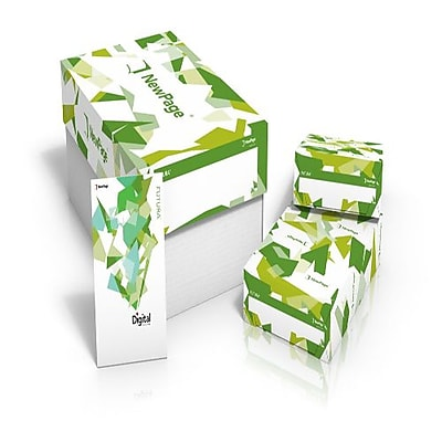 "Futura® Laser 100 lbs. Dull Paper, 8 1/2"" x 11"", White, 3000/Case"