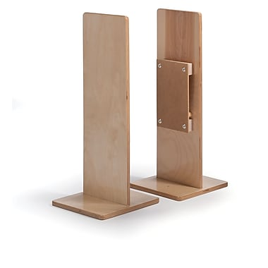 Whitney Brothers Room Divider Straight Post, Natural