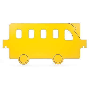 Whitney Brothers Room Divider Bus Panel, Yellow