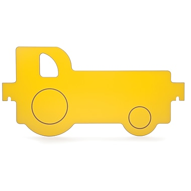 Whitney Brothers Room Divider Tractor Panel, Yellow