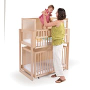 Whitney Brothers Space saver Two Level Crib, Natural