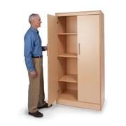 """Whitney Brothers Tall and Wide Storage Cabinet, 72""""(H)"""