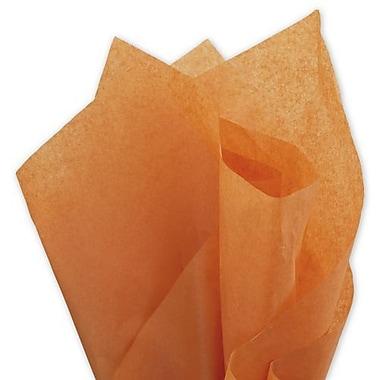 Bags & BowsMD – Papier de soie uni, 20 x 30 po, orange embrasé, 480 feuilles/paquet