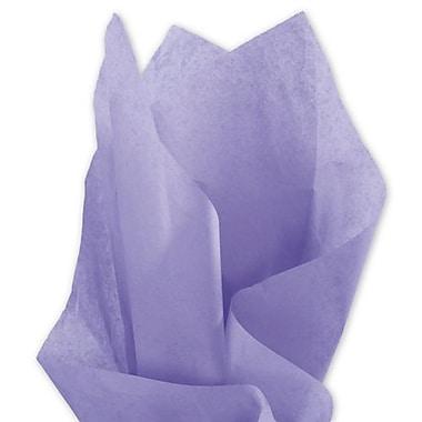 Bags & BowsMD – Papier de soie, 20 x 30 po, lavande, 480 feuilles/paquet