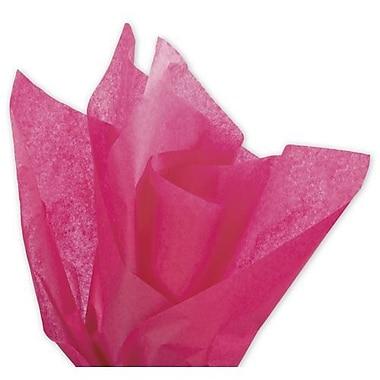 Papier de soie solide Bags & BowsMD, 20 x 30 po, Boysenberry, 480 feuilles/paquet