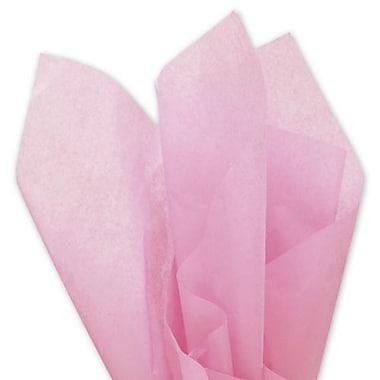 Bags & BowsMD – Papier de soie uni, 20 x 30 po, rose pâle, 480 feuilles
