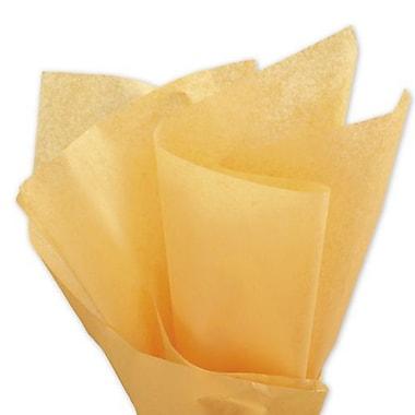 Bags & BowsMD – Papier de soie uni, 20 x 30 po, moisson d'or, 480 feuilles/paquet
