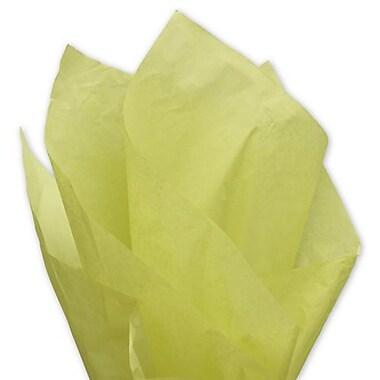 Bags & BowsMD – Papier de soie uni, 20 x 30 po, pistache, 480 feuilles/paquet