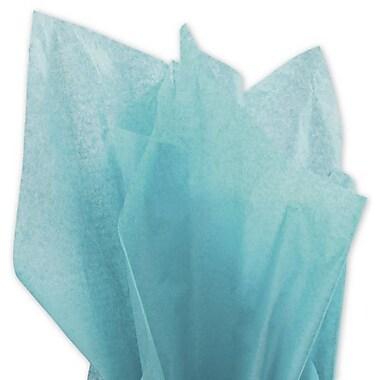 Bags & BowsMD – Papier de soie uni, 20 x 30 po, turquoise vif, 480 feuilles/paquet