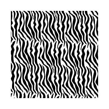 Papier de soie à motif zèbre, 20 po x 30 po, noir/blanc, 240/paquet