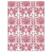 "20"" x 30"" Honeysuckle Damask Tissue Paper, White"