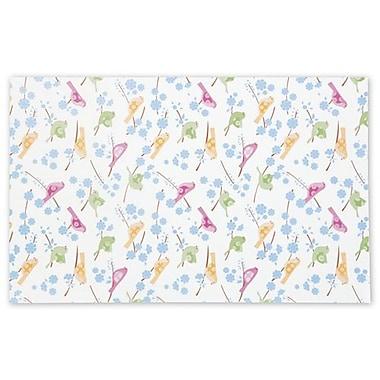 Papier de soie Song Birds, 20 x 30 po, blanc, 200/paquet