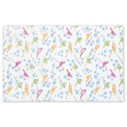 """Bags & Bows® 20"""" x 30"""" Song Birds Tissue Paper, White, 200/Pack"""