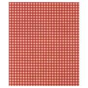 Papier de soie en kraft à motif vichy, 20 x 30 po, rouge, 240/paquet
