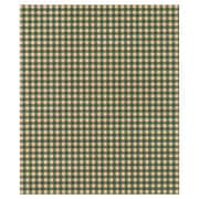 "20"" x 30"" Gingham Kraft Tissue Paper, Green"