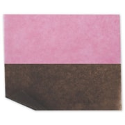 "6"" x 10 3/4"" Bakery Tissue Paper, Strawberry/Chocolate"