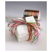 "1/4"" x 55 yds. Holiday Raffia Pearl Ribbon"