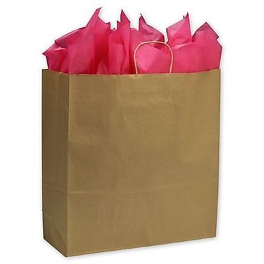 Grands sacs de magasinage en papier de 18 x 7 x 19 po, 200/paquet