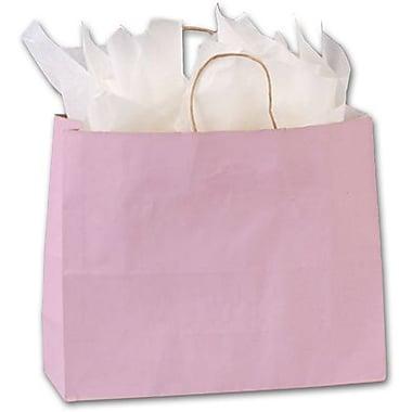 Sacs Varnish Stripe, 16 x 6 x 12 1/2 po, rose pâle, 250/paquet