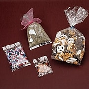 """Bags & Bows® 3"""" x 4"""" Polypropylene Bag Non Gusseted, Clear, 1000/Pack"""