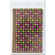 """Polypropylene 5.75""""H x 4.38""""W Dots Food Bags, Clear, 100/Pack"""