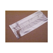 """Polypropylene 13.5""""H x 5.5""""W x 3""""D Side Gusseted Food Bags, Clear, 100/Pack"""