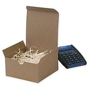 "Kraft Paper 2""H x 4""W x 4""L Gift Boxes, Brown, 100/Pack"