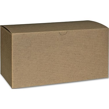 Boîtes-cadeaux 1 pièce, 4 1/2 x 4 1/2 x 9 (po), 100/pqt.