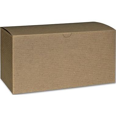 Boîte-cadeau nº 94, Kraft, 9 x 4 1/2 x 4 1/2 (po)